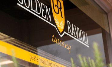 Golden Ravioli exterior - cropped