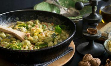 spinach gnocchi Recipe - website header