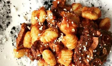 Gnocchi Ragu - website header blog