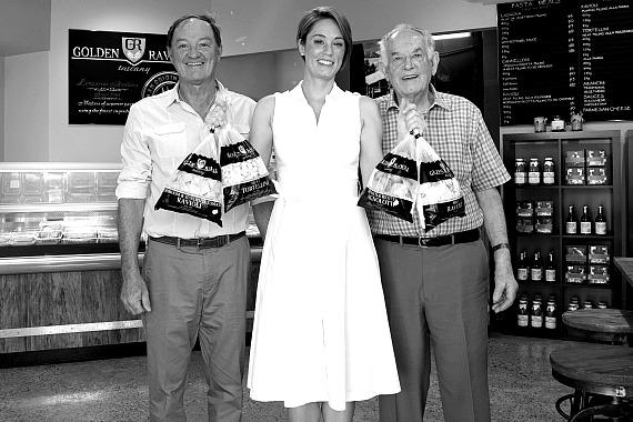 PICTURED: Danny with his daughter Renee (Marketing Manager/Customer Relations) and his uncle Narciso